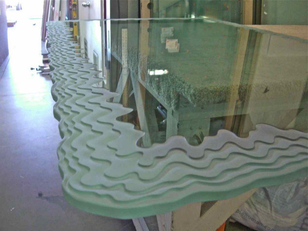 Iceberg Edge II Glass Dining Table