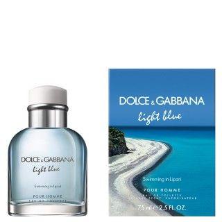 9240f4fe5e9da Perfume Light Blue Pour Homme Swimming in Lipari Eau de Toilette Dolce    Gabbana - Perfume