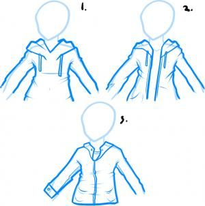 How To Draw A Hoodie Draw Hoodies Realistic Drawings Drawing People Drawing Tips