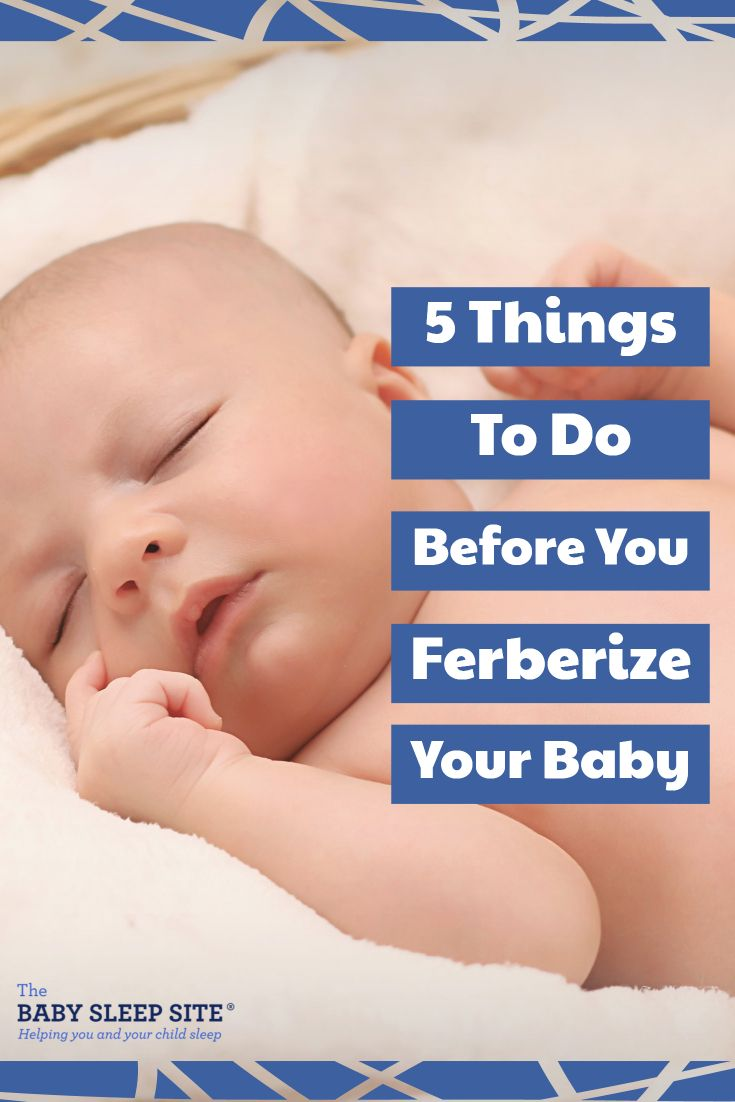 Planning on Ferberizing your baby? To help make sure you ... - photo#45