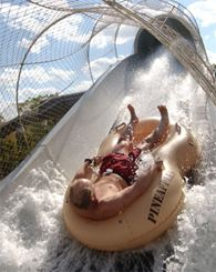 Illa Fantasia Waterpark in Barcelona, Spain.   http://www.vacationsmadeeasy.com/BarcelonaSpain/