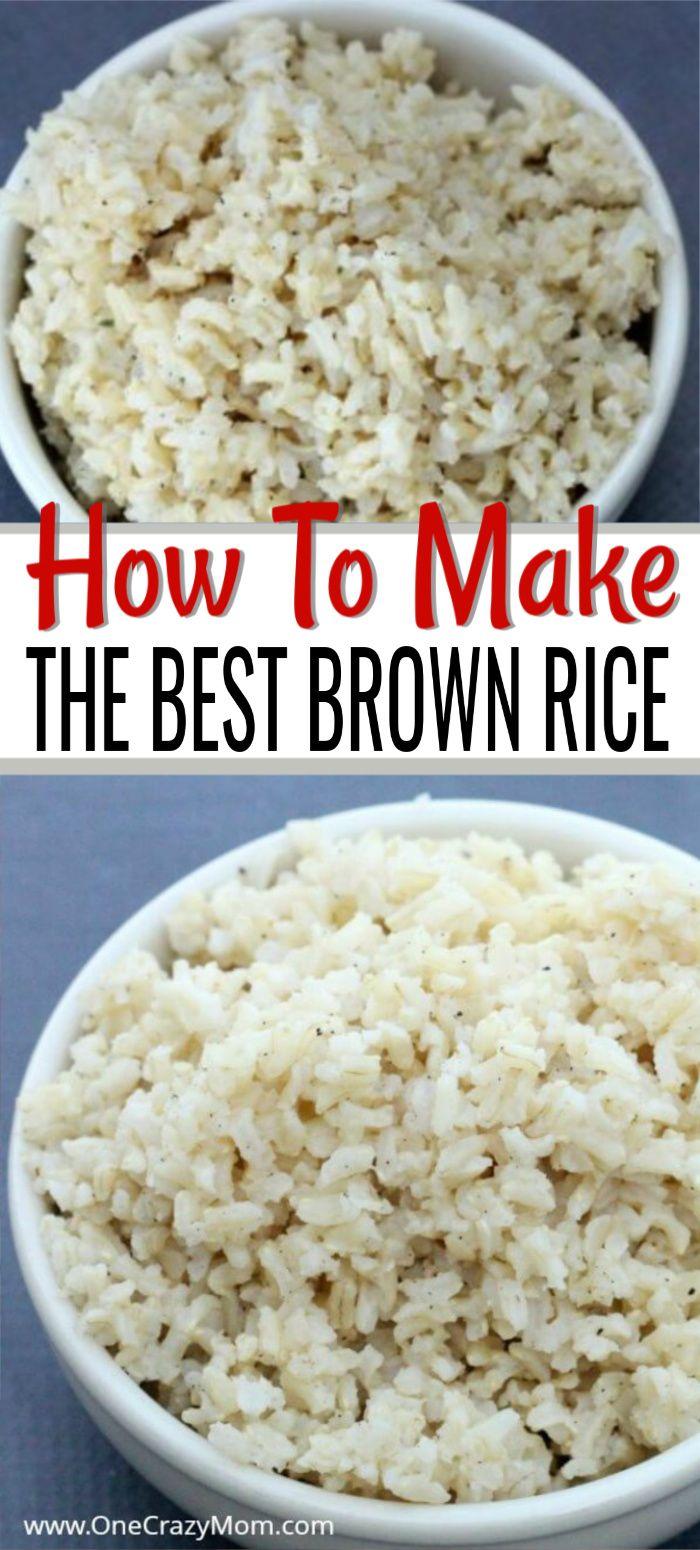 15 WAYS TO SEASON BROWN RICE #seasonedricerecipes