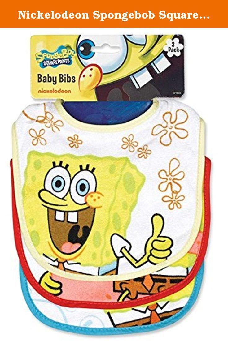 Spongebob squarepants bathroom accessories - Nickelodeon Spongebob Squarepants Baby Bibs 3 Pack Spongebob Squarepants 3pk Baby Bibs Mealtime