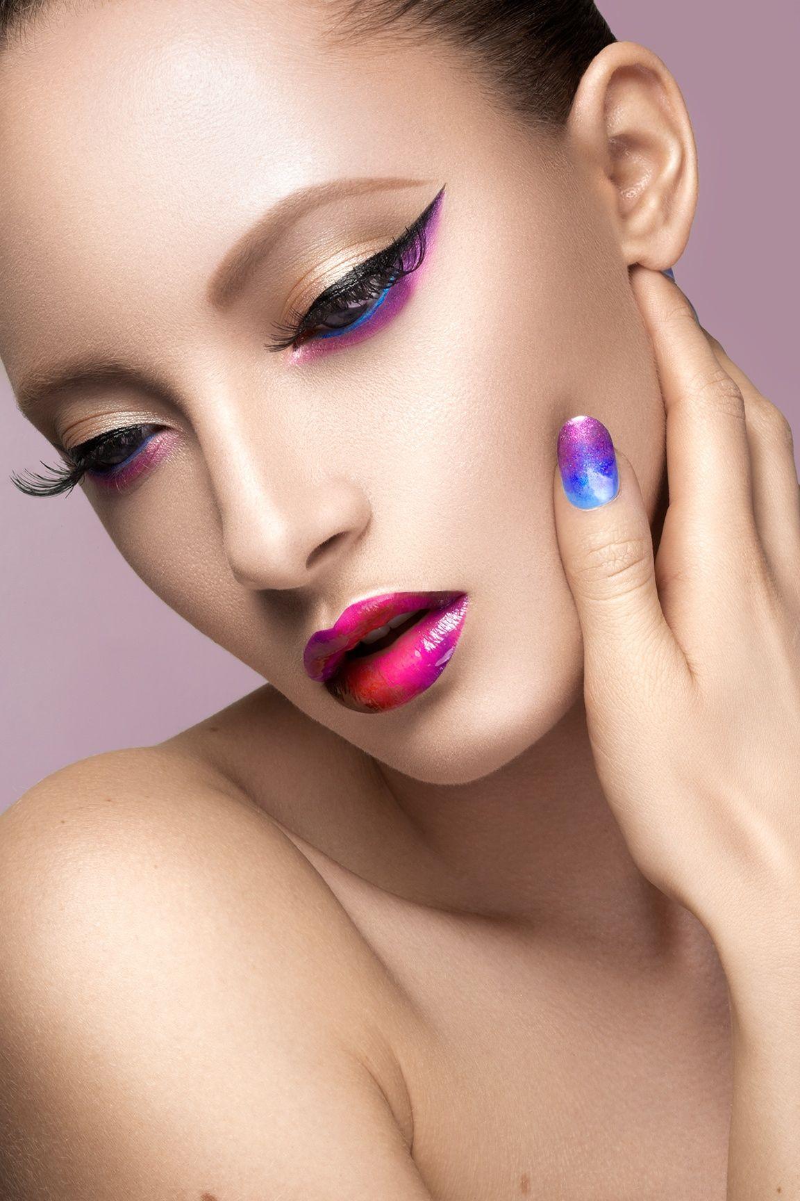 Beauty High End Retouching Color Makeup