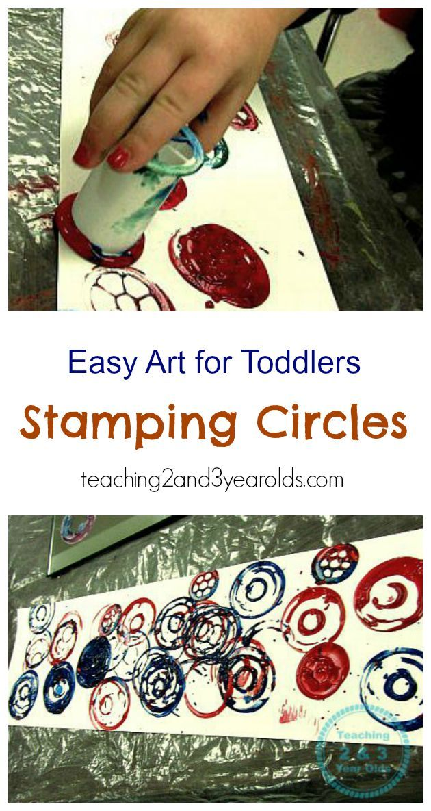 how to put together easy toddler art using spools 2 year olds