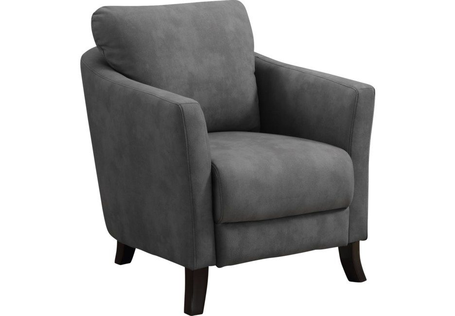 Best Beckenham Charcoal Accent Chair Upholstered Accent 400 x 300