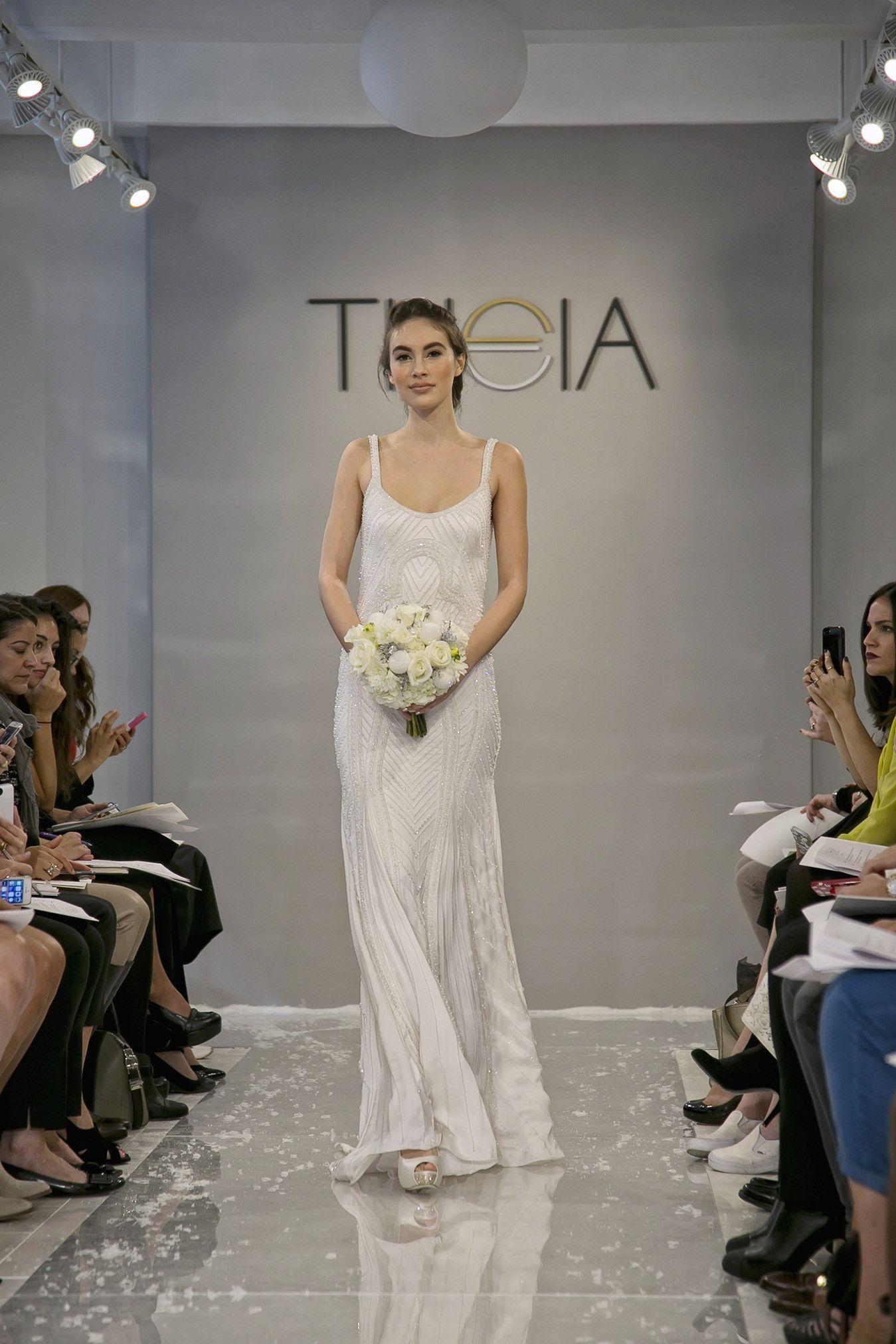 Theia wedding dresses  Suana u THEIA  Wedding Dresses  Pinterest  Simple weddings