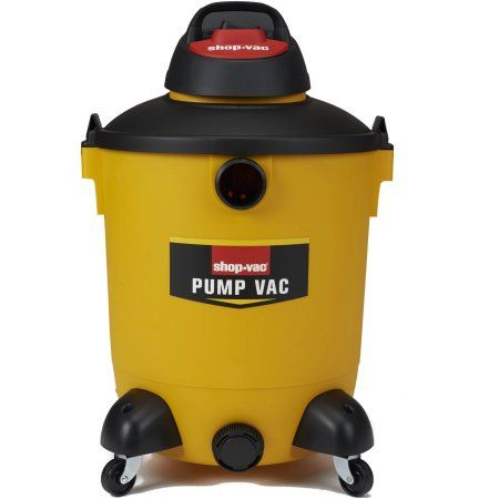 Shop-Vac 14 Gallon Vacuum with Built in Pump, Yellow