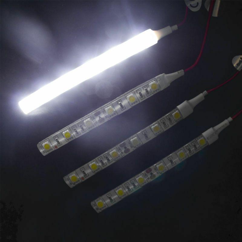 Details About 10cm Waterproof White 5050 Led Strip Lights Dc 12v Caravan Boat Car Swb Led Strip Lighting Strip Lighting Flexible Led Light