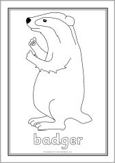 Percy The Park Keeper Colouring Sheets Sb10143 Sparklebox Percy The Park Keeper Animal Coloring Pages Coloring Sheets