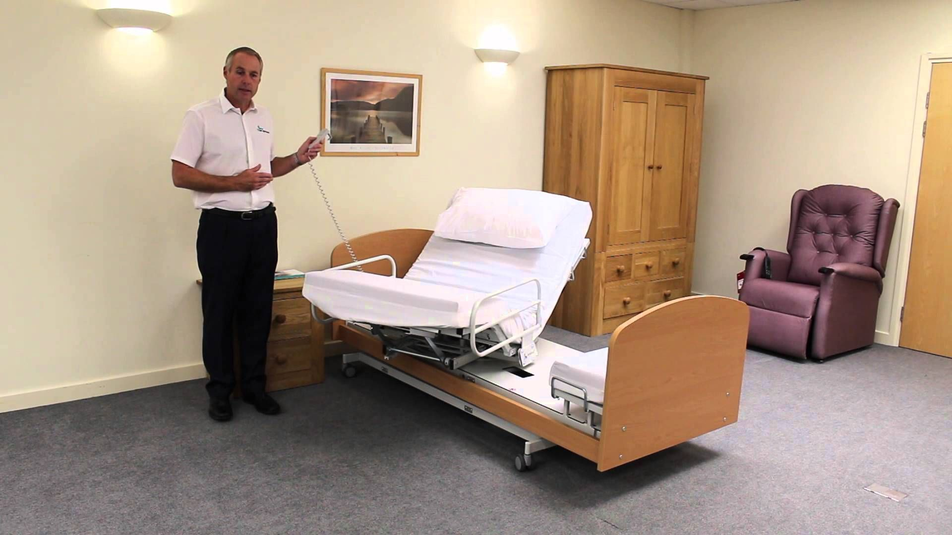 The Rotoflex Rotational Care Bed from Theraposture