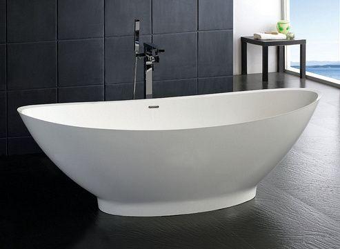 baignoire ilot en résine … | salle de bains | pinterest | modern