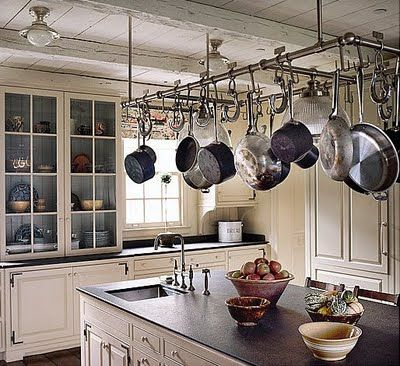 I Want A Pots And Pans Rack Like This
