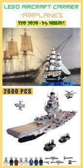 Lego aircraft carrier #aircraft #carrier #flugzeugträger #porte-avions Lego Flu...,  #aircraft #carrier #Flu #flugzeugträger #Lego #porteavions