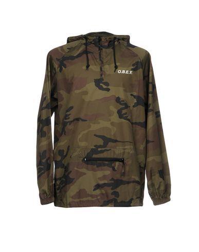 OBEY Men s Jacket Military green L INT  633a3b560a7