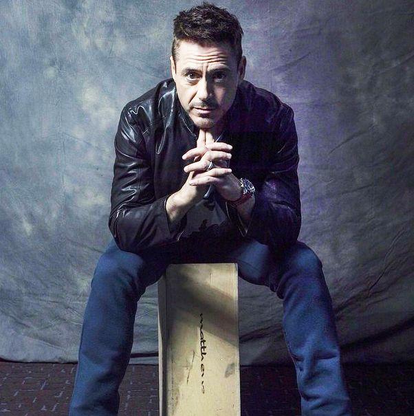 Robert Downey Jr. - official San Diego Comic Con portrait, 2014.