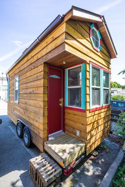 Introducing The World S Smallest Tiny House Classroom Small Tiny House Tumbleweed Tiny Homes Tiny House Company