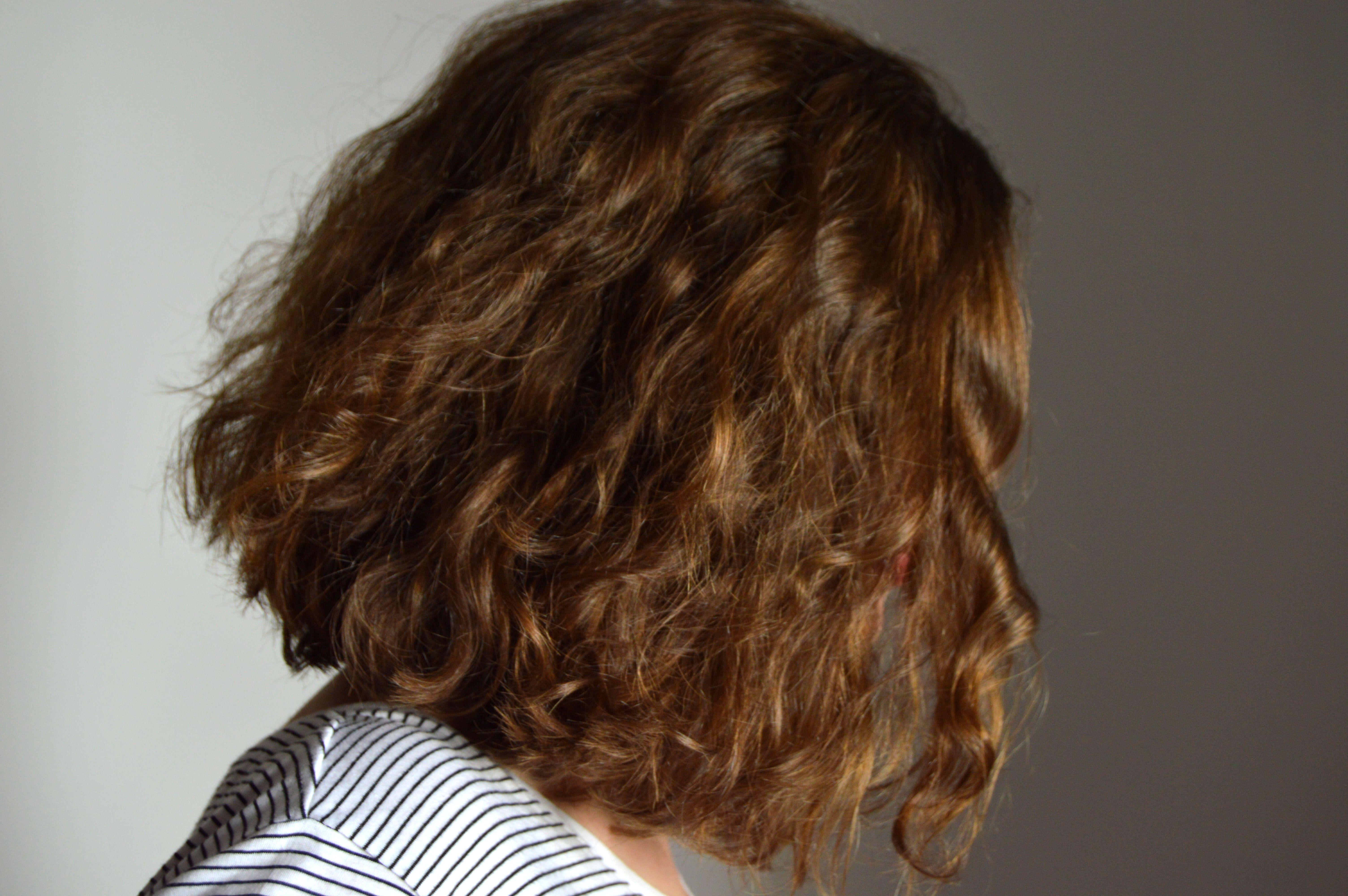 Lob Longbob Lob Hairstyle Hair Curly Natural Stripedshirt Naturlocken Locken Natur Locken Machen