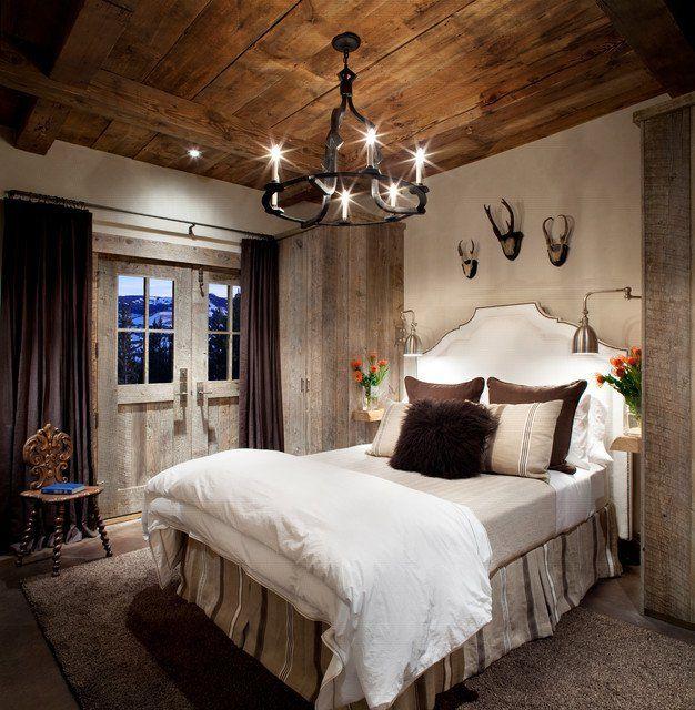 16 Irresistibly Warm And Cozy Rustic Bedroom Designs Bedrooms Decorating And Cozy