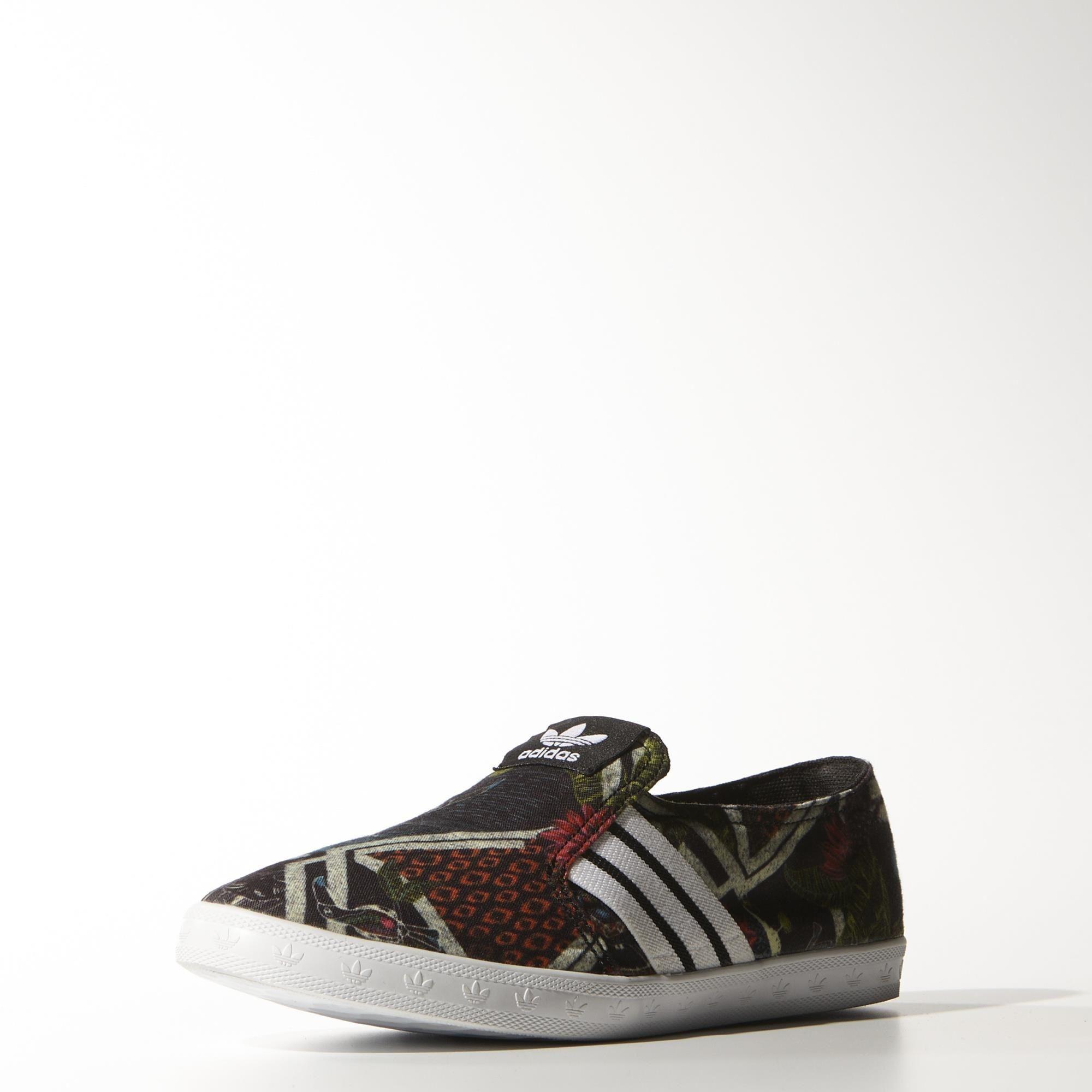 adidas Women's Adria PS Slip-On Shoes - Black