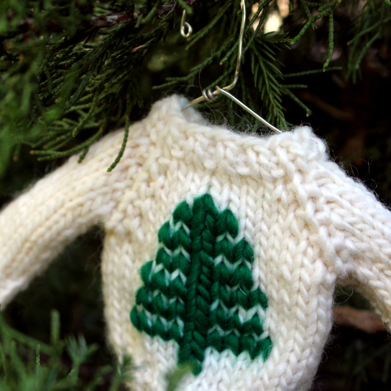Pattern ornament google decor new year pinterest christmas knitting pattern tree mini by fiftyfourtenstudio measures x sleeve end to sleeve end x across cest knit bankloansurffo Images