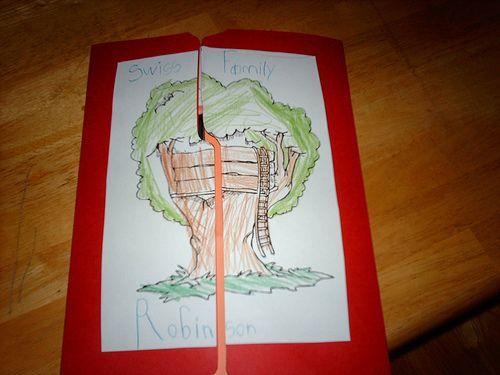 Swiss Family Robinson lapbook
