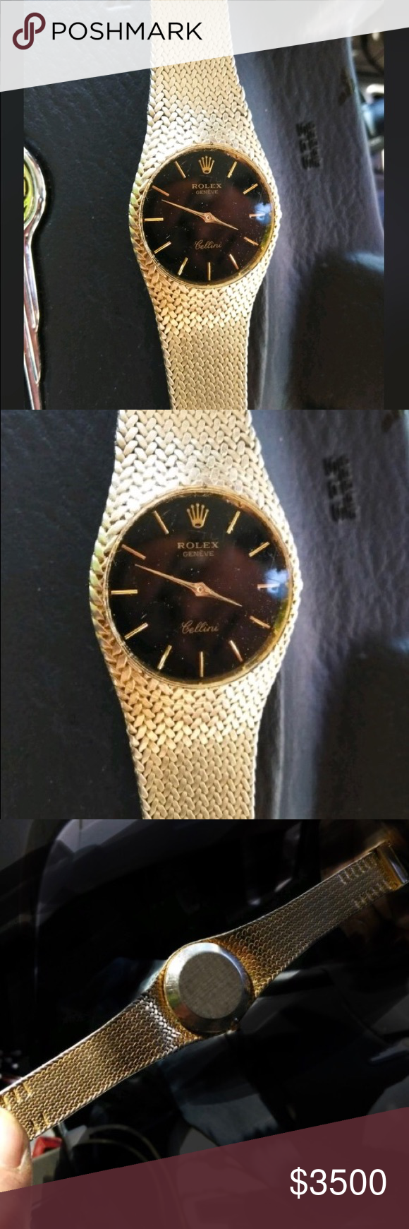 Rolex Geneve Cellini Watch Gold Vintage This Is A Vintage Rolex Geneve Cellini That Is In Amazing Condition I Don T Know Much About T Gold Watch Vintage Rolex
