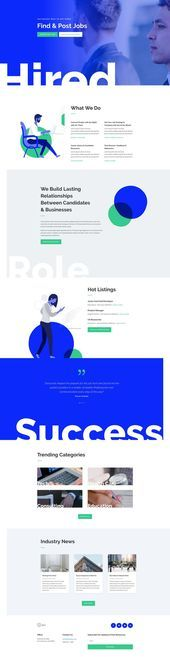 The Job Recruiter Layout Pack is designed to impress All eight pages feature as