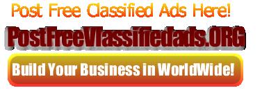 Post Free Classified Ads #postfreeclassifiedads #classified