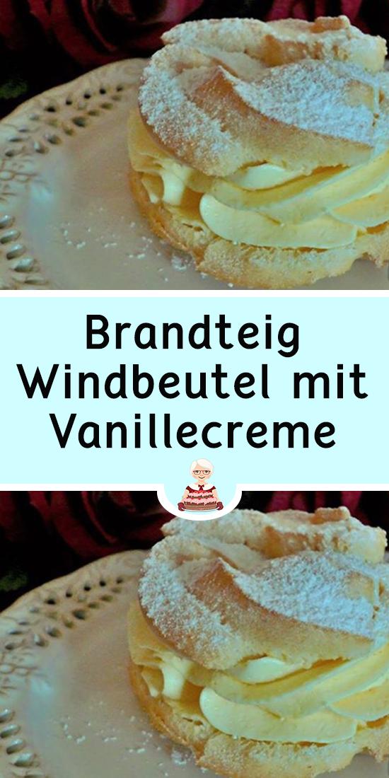 Photo of Brandteig-Windbeutel mit Vanillecreme
