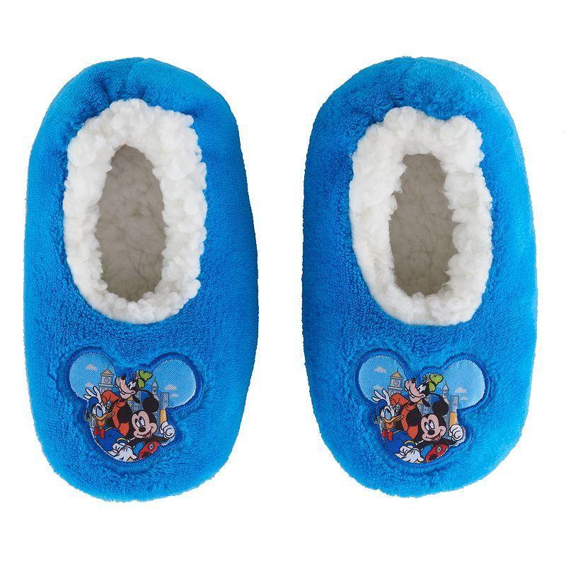 Disney's Mickey Mouse Toddler Boy Applique Plush Slipper