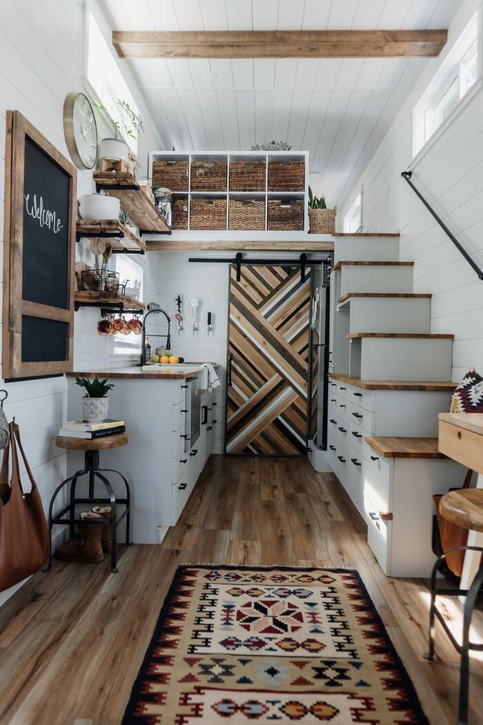 Californian couple built their own tiny dream house on a $35,000 budget