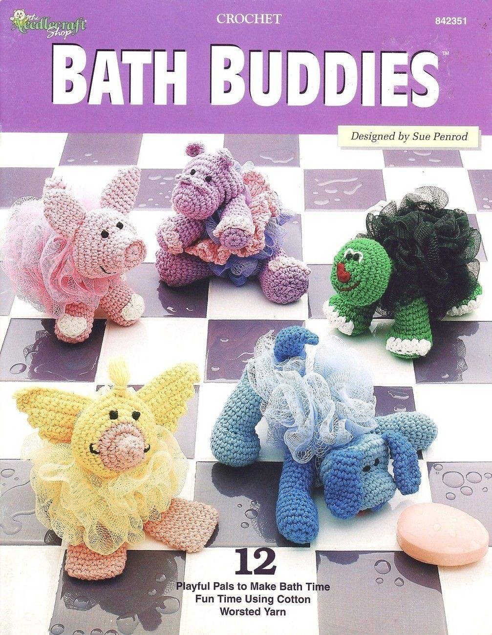 Bath buddies crochet patterns book animals toys pets bath buddies crochet patterns book animals toys pets bankloansurffo Image collections