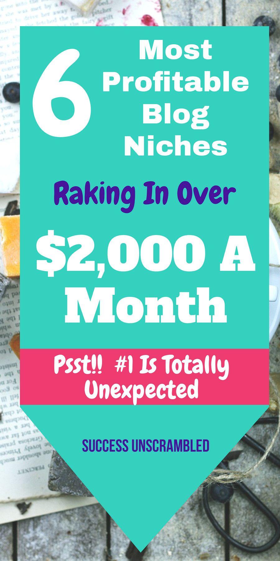 6 Most Profitable Blog Niches That Make The Most Money | Make Money