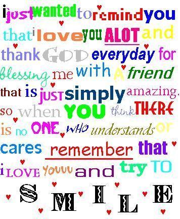 Friendship :)