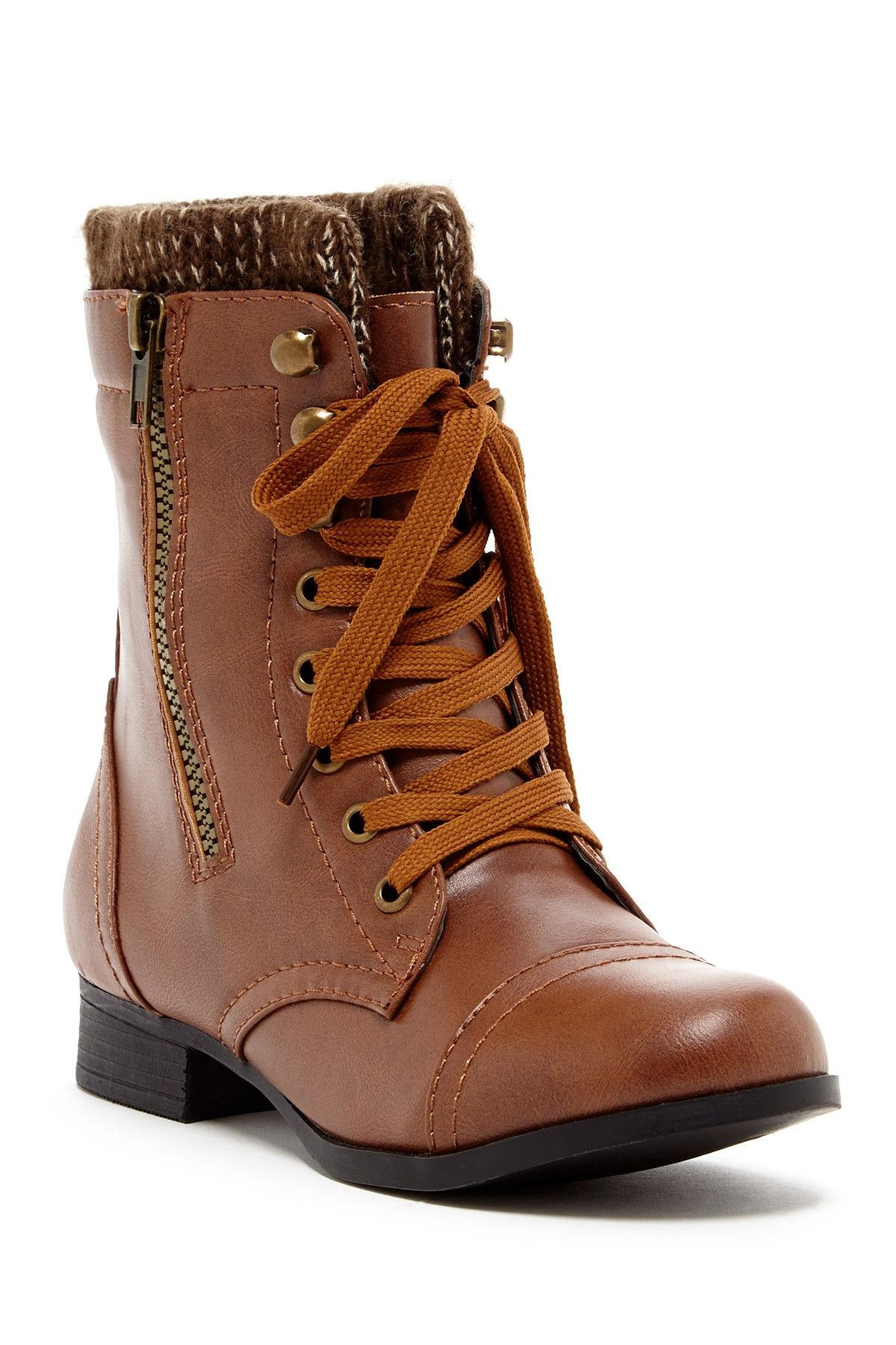 42e9dc603f2d Lace-up Cloth Boot on HauteLook