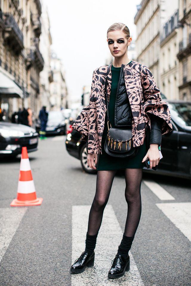 Street looks à la Fashion Week automnehiver 20162017 de