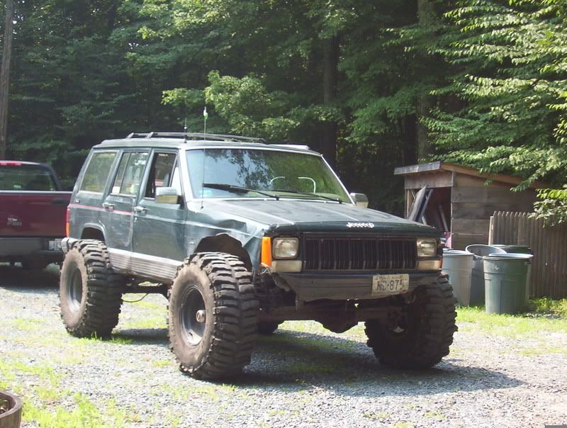 1 5 Lift With 37s Jeep Xj Mods Jeep Cherokee Xj Jeep Xj