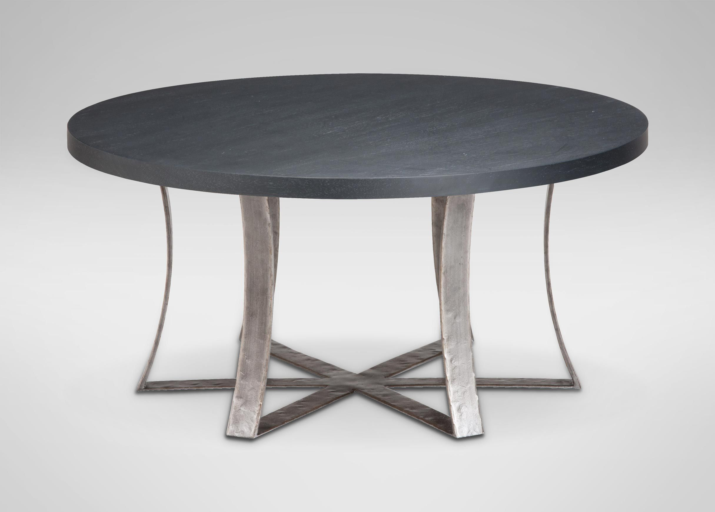 Roswell Round Coffee Table Coffee Tables Round Coffee Table Rustic Side Table Oval Glass Coffee Table [ 1740 x 2430 Pixel ]