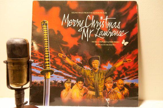 "ON SALE Vinyl Record Album David Bowie Film LP Soundtrack ""Merry Christmas, Mr. Lawrence"" (1983 Virgin Records)"