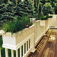 Deck Rail Planters Balcony And Porch Railing