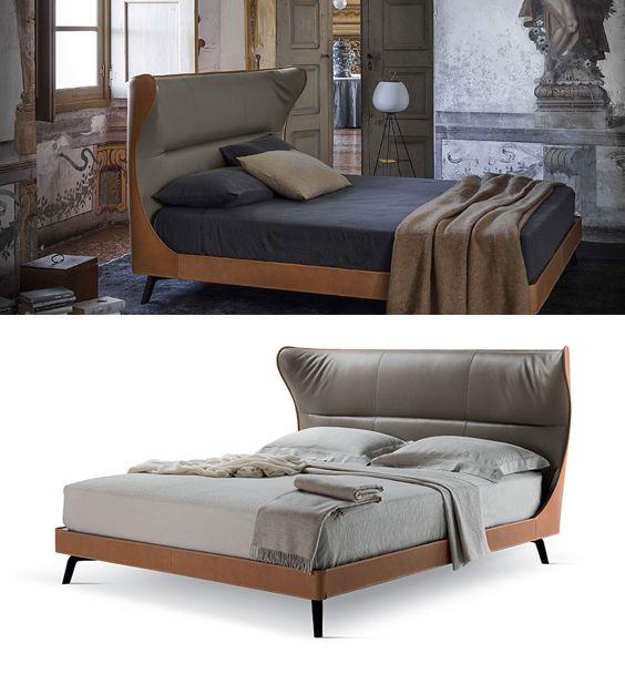 Poltrona Frau   Mamy Blte Bed   design by Roberto Lazzeroni (2014)