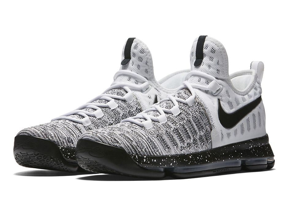 """sneakers  news Nike Continues With Colorless KD 9 Releases In """"Oreo"""" 8d8baf32cd"""