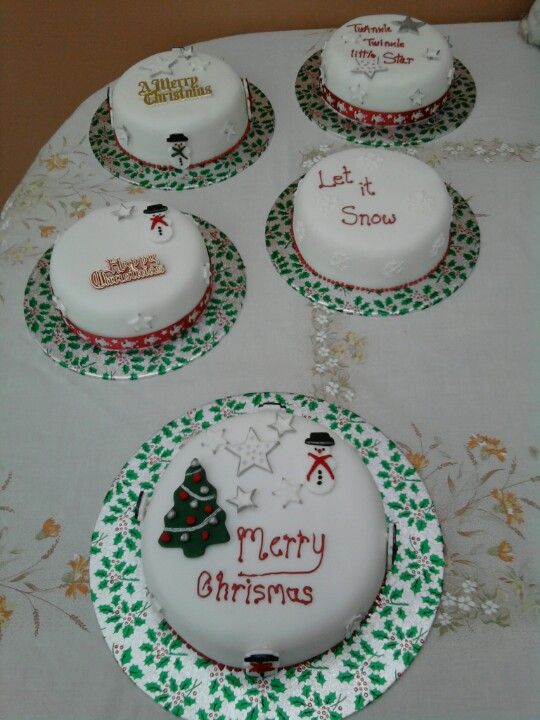 Just a few xmas cakes
