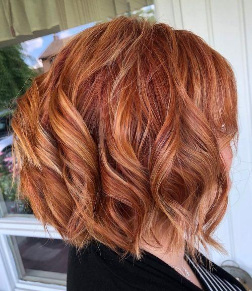20 capelli rossi più caldi con riflessi biondi per il 2020 ...