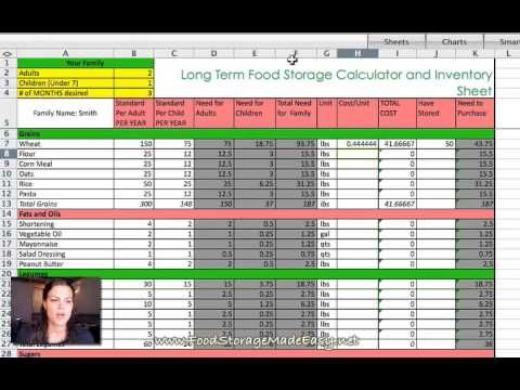 Food Storage Do-Over Week 7 Long Term Supply Planning Long term