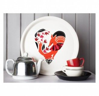 Darling Clementine, Florence the fox tray. Perfect wedding gift