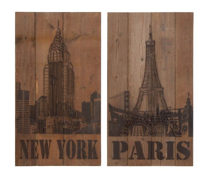 Find it at the foundary new york paris wood wall art 20 in
