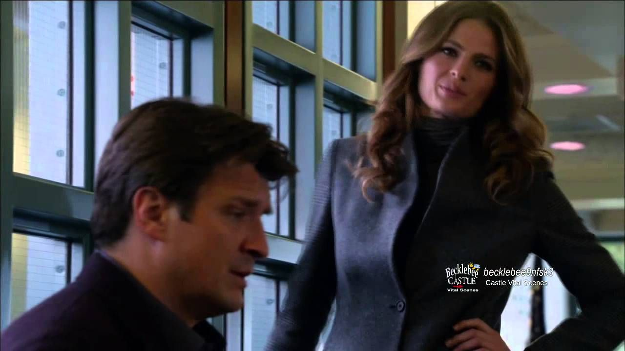 "Castle 6x15 Sneak Peek #2 ""Smells Like Teen Spirit"" Castle & Beckett & Detention Flashbacks"