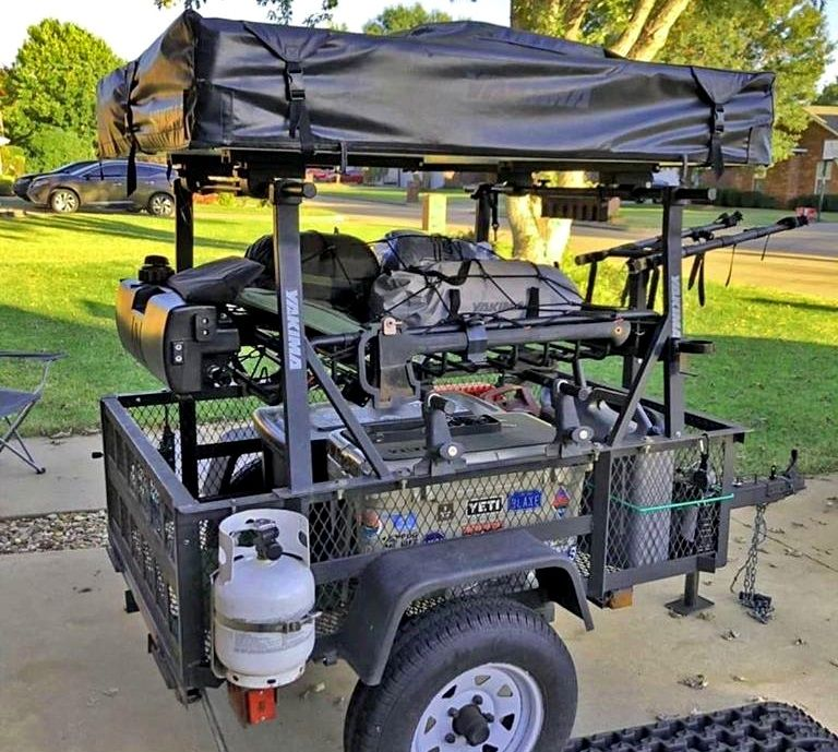 Camping Trailers, Compact Trailers, Trailer Racks DIY – Compact Camping Concepts